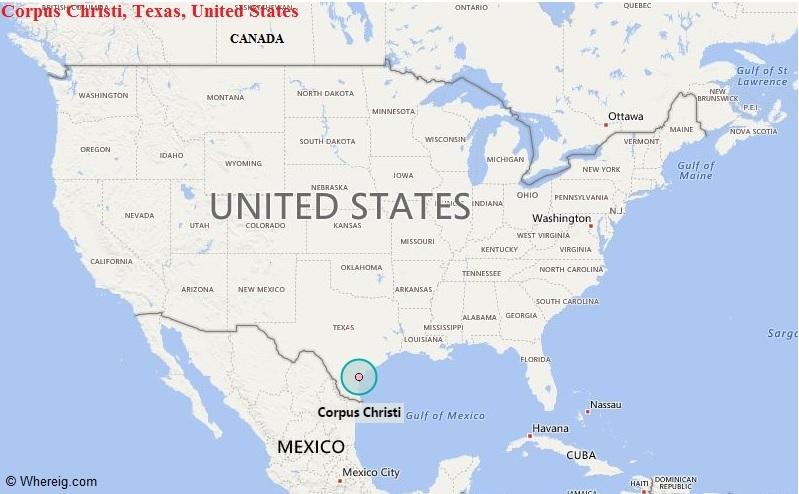 Where is Corpus Christi, Texas