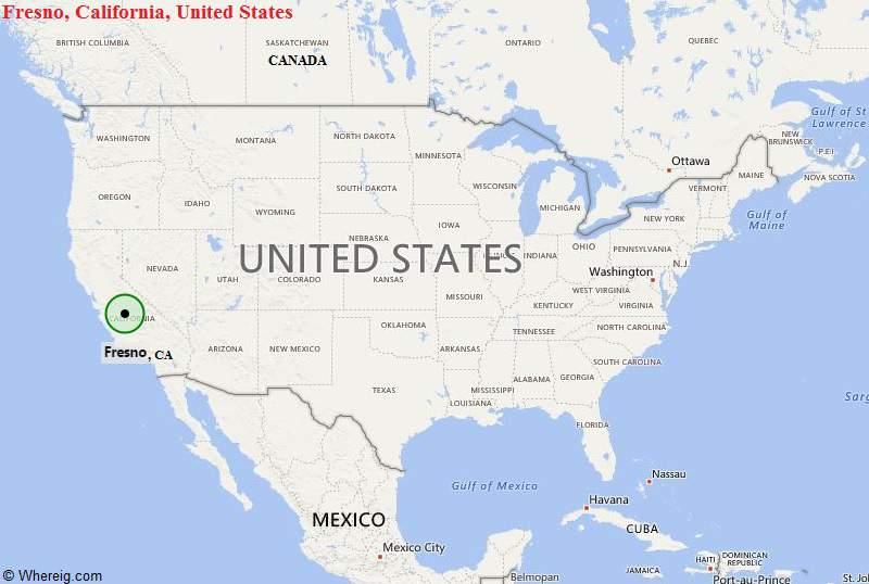 Where is Fresno, California