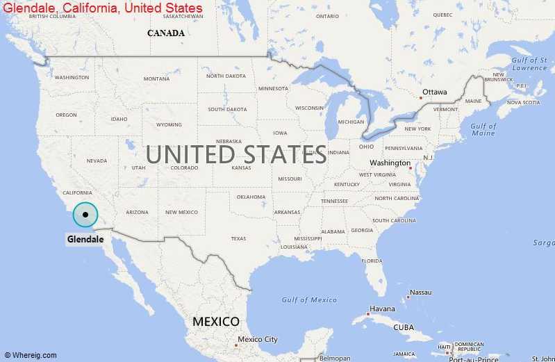 Where is Glendale, California