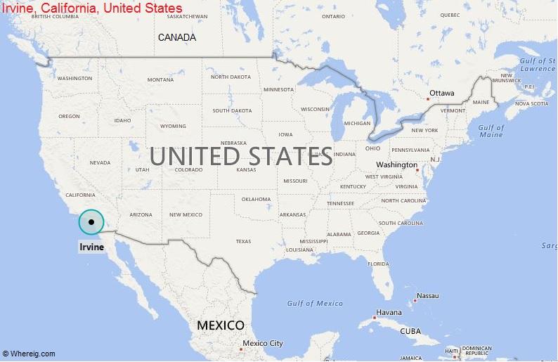 Where is Irvine, California