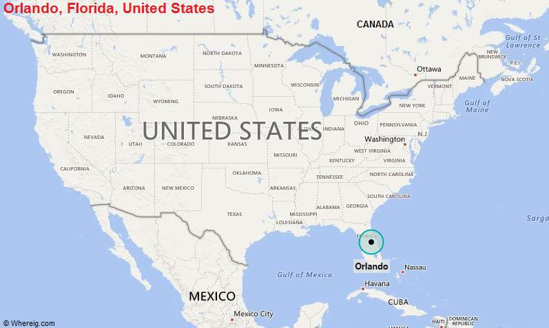 Where is Orlando FL Where is Orlando FL Located in The US Map