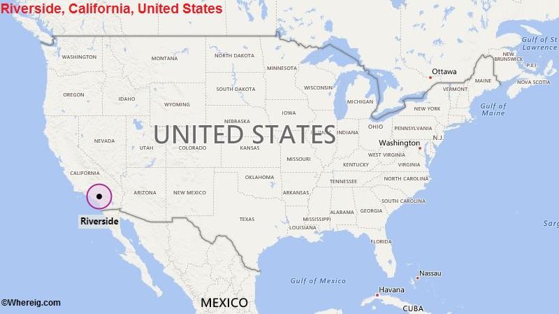 Where is Riverside, California