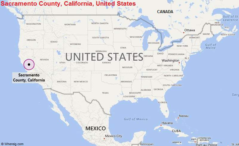 Where is Sacramento Where is Sacramento CA Located in the US Map