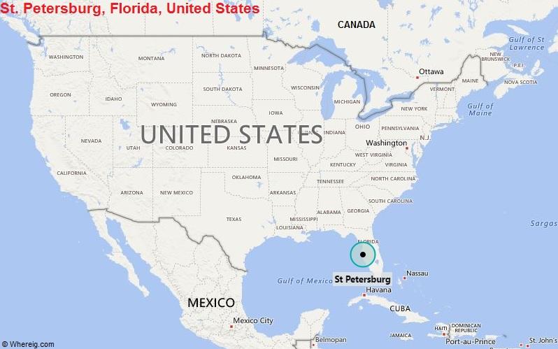 Where is Saint Petersburg, Florida