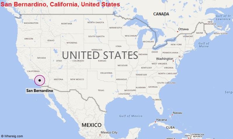 Where is San Bernardino, California