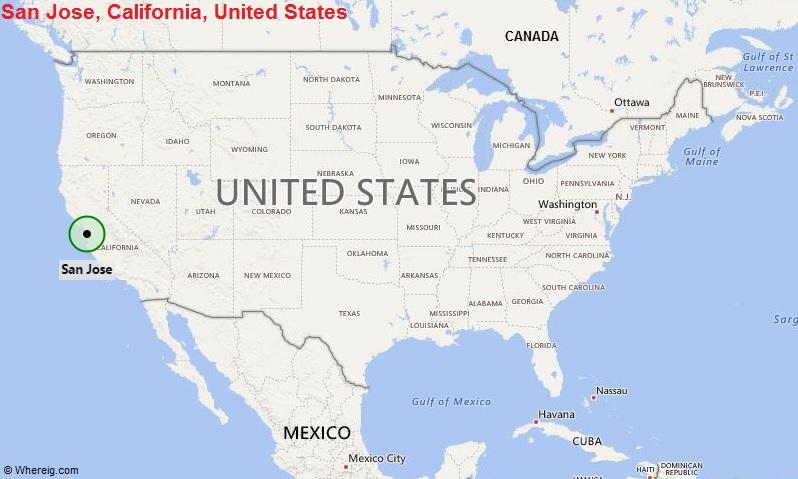 Where is San Jose, California