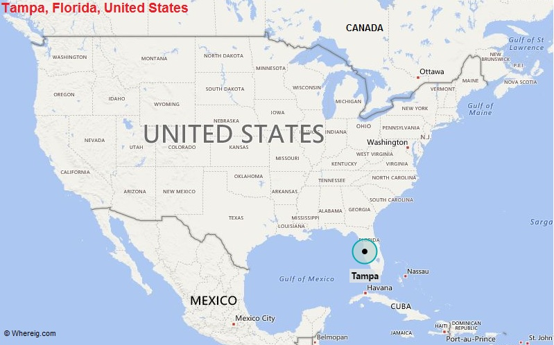Where is Tampa, Florida