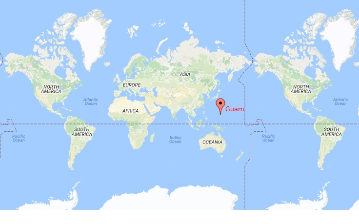Guam On A World Map.Where Is Guam Where Is Guam Located In The World Map