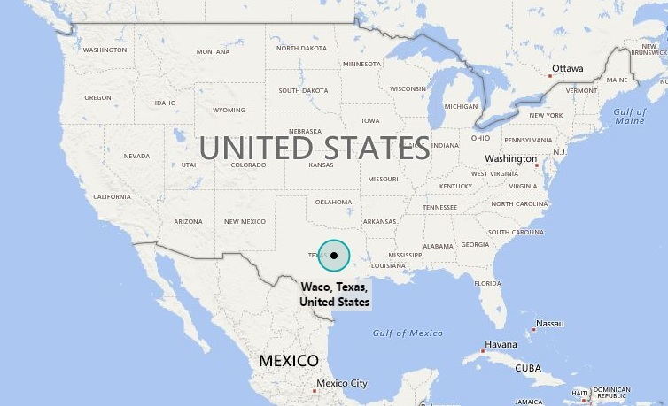 Where Is Waco Tx Where Is Waco Texas Located In The Us Map