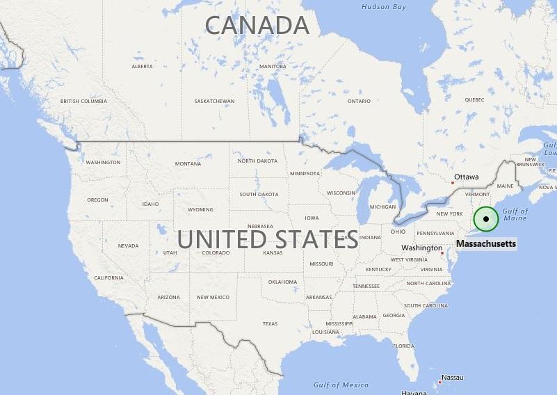 Where is Massachusetts