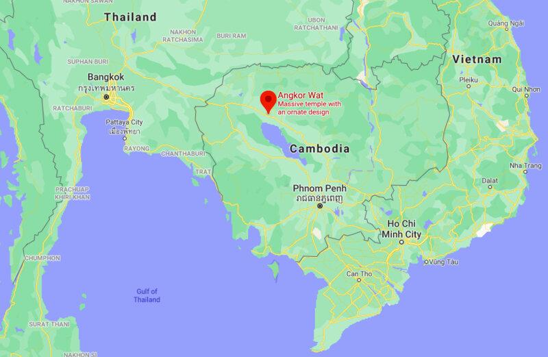 Where is Angkor Wat