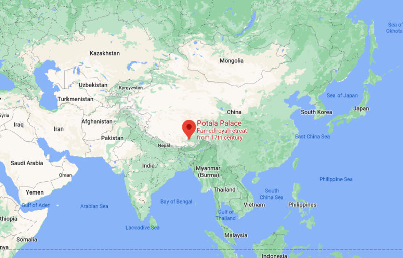 Where is Potala Palace